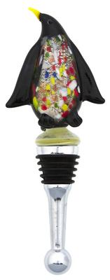 Penguin Glass Bottle Stopper 2