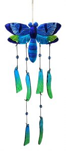 Dragonfly Glass Wind Chime