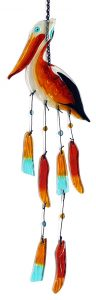 Pelican Glass Wind Chime