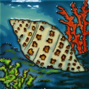 Junonia Shell Tile Trivet