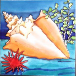 Conch Tile Trivet
