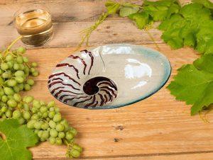 Nautilus Glass Plate