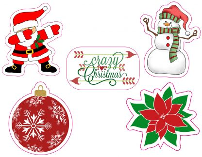 Christmas Decal Fun Pack