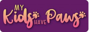 All My Kids Have Paws Decal - For cell phones, tablets, scrpabooks, and more