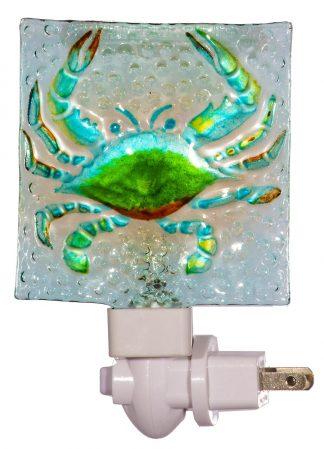 crab night light