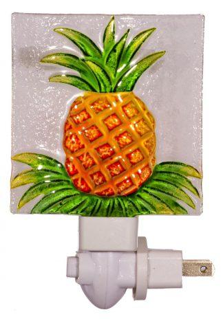Lovely Fused Glass Pineapple Night Light 1