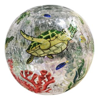 sea turtle globe light