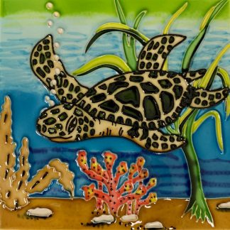 Sea Turtle Tile Trivet