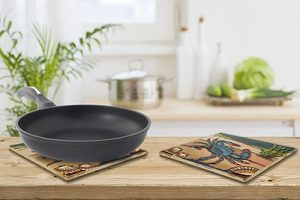 Delightful Blue Crab Tile Trivet 3
