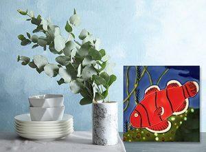 Fantastic Anemone Fish Tile Trivet 2
