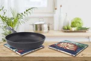 Superb Nautilus Tile Trivet 3