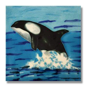 Extraordinary Orca Tile Trivet 1
