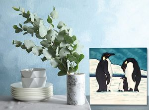 Superb Penguin Tile Trivet 2