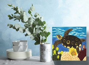 Terrific Turtle Tile Trivet 2