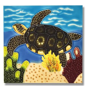Terrific Turtle Tile Trivet 1