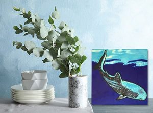 Wonderful Whale Shark Tile Trivet 2
