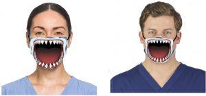 shark bite facemask