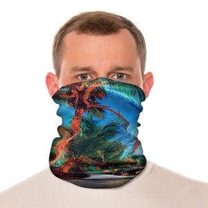 palm tree neck gaiter
