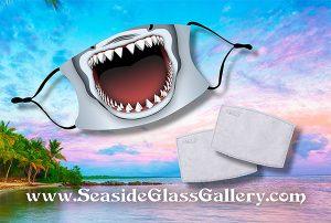 Shark Bite Face Mask w/ Melt Blown Filter 1