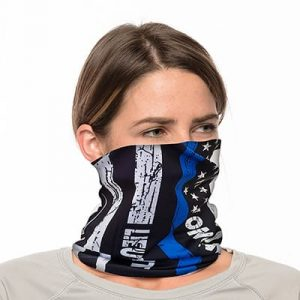 "Custom Neck Gaiter - 18"" Long Microfiber Polyester - Add Your Own Text 1"
