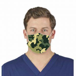 Camo Facemask w/ Melt Blown Filter 3