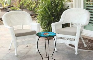 """Exquisite Jellyfish Glass Side Table - 12"""" Diameter Top 4"""