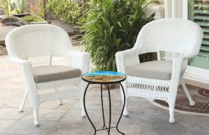 "Dazzling Sandpiper Glass Side Table - 12"" Diameter Top 4"