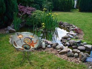 "Seashell Medley Glass Bowl - 18"" 3"