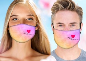 Super Nurse Face Mask w/ Melt Blown Filter 1