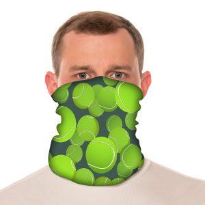 "Tennis Neck Gaiter / Beach Balaclava - 18"" Long Microfiber Polyester 2"