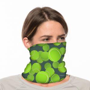 "Tennis Neck Gaiter / Beach Balaclava - 18"" Long Microfiber Polyester 1"