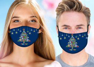 Christmas Shell Tree Mask w/ Melt Blown Filter 2