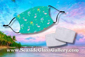 Kids Flamingo-mas Mask w/ Melt Blown Filter 2