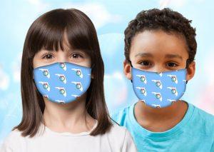 Kids Florida Wreath Mask w/ Melt Blown Filter 1