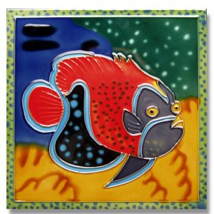 Lg Clownfish Tile Trivet 1