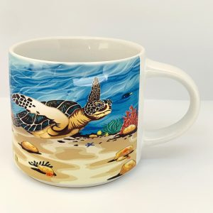 sea turtle stackable mug