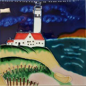 Lg Lighthouse Tile Trivet 1