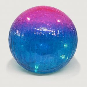"Pink and Blue Gazing Globe Light - 6"" 1"