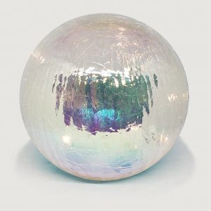 "Clear Gazing Globe Light - 6"" 1"