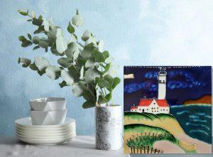 Lg Lighthouse Tile Trivet 2
